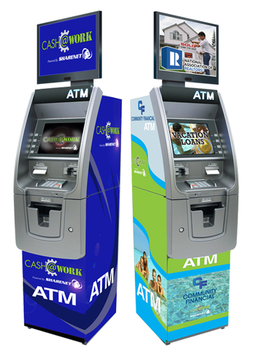 Sharenet Announces New Cash@Work ATM Program for Financial Institutions